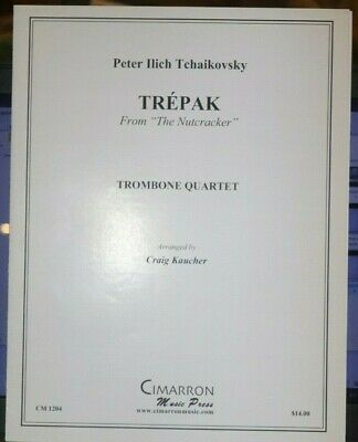 Trombone Quartet: Trepak from Nutcracker arr Kaucher New  ()