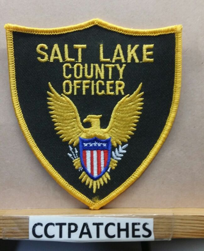 SALT LAKE COUNTY, UTAH  OFFICER (SHERIFF POLICE) SHOULDER PATCH UT
