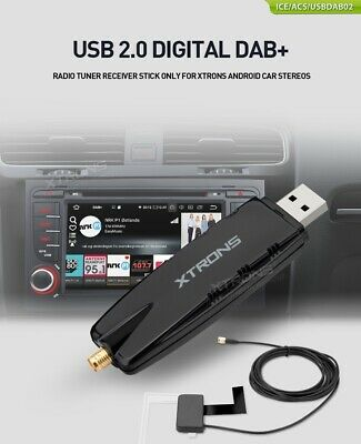 USB 2.0 Digital DAB+ Radio Tuner Receiver Stick Only for XTRONS Android