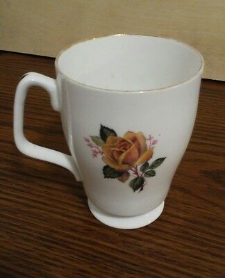 Royal Grafton Fine Bone China Coffee Tea Cup Floral Made In England