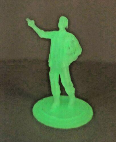 """Star Trek Zefram Cochrane-Glow in the Dark Statue-From movie """"Generations"""""""