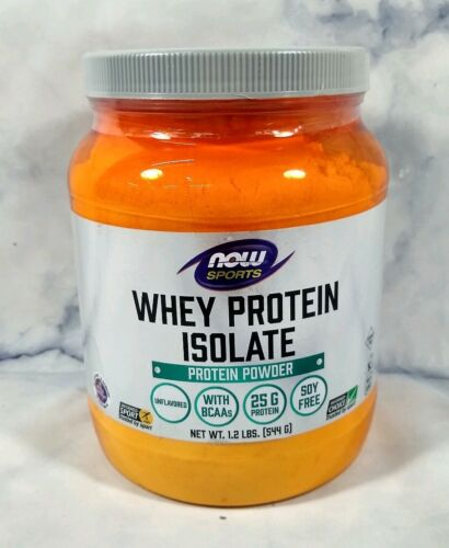 Now Foods  Sports  Whey Protein Isolate  Unflavored  1.2 lbs