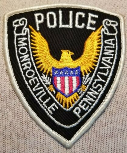 PA Monroeville Pennsylvania Police Patch