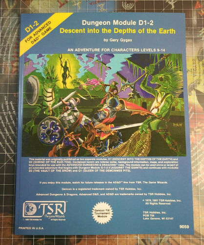D1-2 Descent into the Depths of the Earth