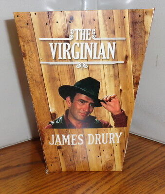 James Drury Popcorn Box. The Virginian.......free Shipping