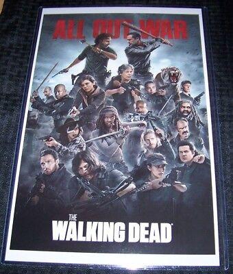 Walking Dead All Out War 11X17 TV Poster Cast