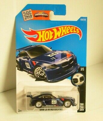 Hot Wheels 2016 Super Treasure Hunt BMW Z4 M Motorsport w/ Real Riders