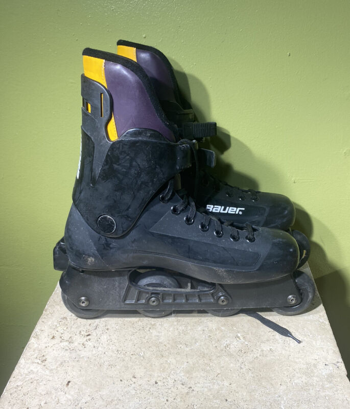 BAUER F3 Fitness Inline Hockey Skates Mens Size 11 Super Light Chassis