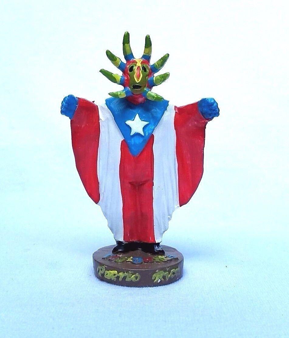SMALL Boricua /& Rican Puerto Rico Home Decorative Piraguero Souvenirs