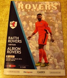 2017/18 SCOTTISH LEAGUE ONE - RAITH ROVERS V ALBION ROVERS - 31 MARCH 2018