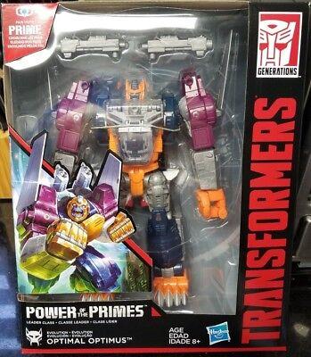 Transformers Power Primes Leader OPTIMAL OPTIMUS PRIMAL BEAST WARS IN STOCK USA