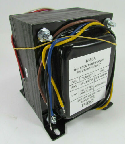 N-66A Magnetek Triad Isolation Transformer