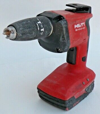 Hilti Sd4500-a22 Cordless Drywall Screwdriver B22-2.6 Battery Excellent Tested