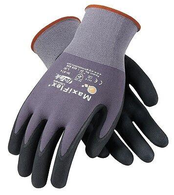 PIP MaxiFlex Ultimate Nitrile Micro-Foam Coated Gloves MEDIUM 12 pair (34-874/M)
