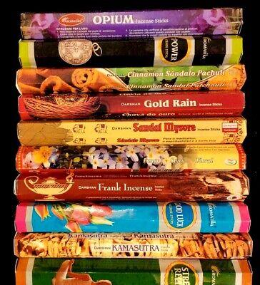 OFFERTA 12 scatole lotto stock incensi 240 BASTONCINI aromi profumo ambiente