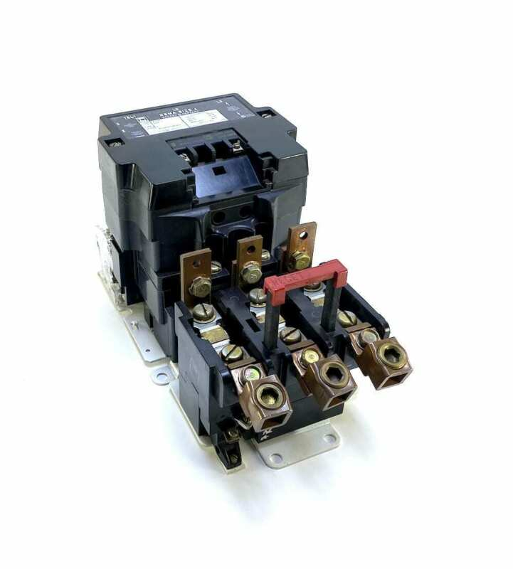 Square D 8536SFO Size 4 Motor Starter w/120 Vac Coil + 1 N.O. Aux