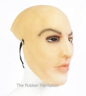 Weiblich Gesicht Latex Maske Halloween Kostüm Living Dolls Crossdresser