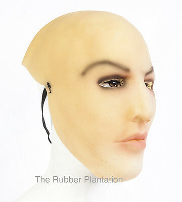 Weiblich Gesicht Latex Maske Halloween Kostüm Living Dolls - Living Doll Kostüm