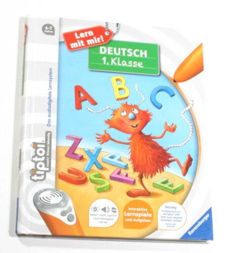 tiptoi® Deutsch 1. Klasse (tiptoi® Lern mit mir!) Ravensburger sehr guter Zustan
