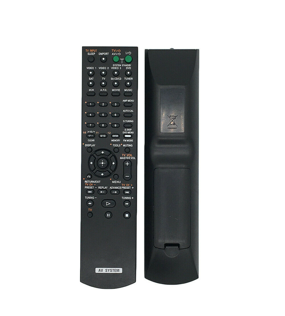 general remote control for sony audio video