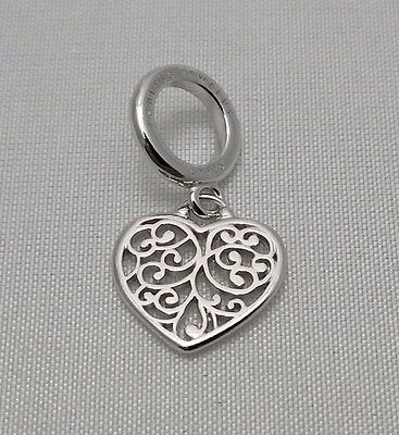 (New & Authentic Endless Heart Love Sterling Silver 925 Dangle Charm 43213)