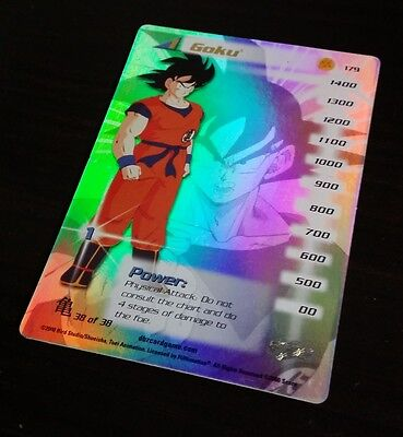 Dragon Ball Z Goku TRADING CARD GAME / THICK CARD / GLOSSY / LIMITED EDITION