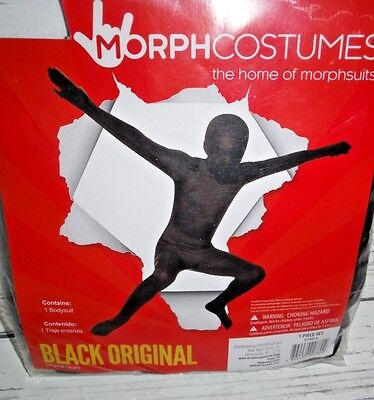 Black Morph Kostüm (New Halloween Costume Boy's Morph Costume Black Medium 8-10)