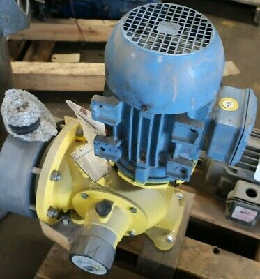 Lmi Milton Roy Series G Metering Pump Sg7388p 300 Gph 50 Psi Used Weg 143tc