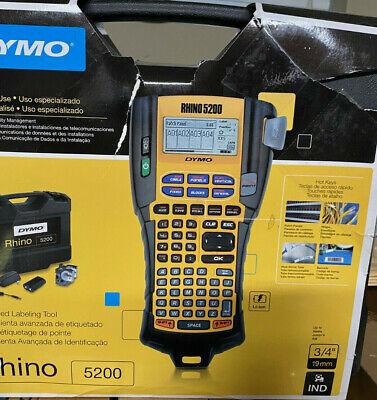 New Dymo Rhino 5200 Label Thermal Printer