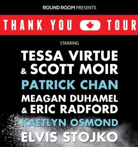 Thank You Canada Tour - ice show ticket