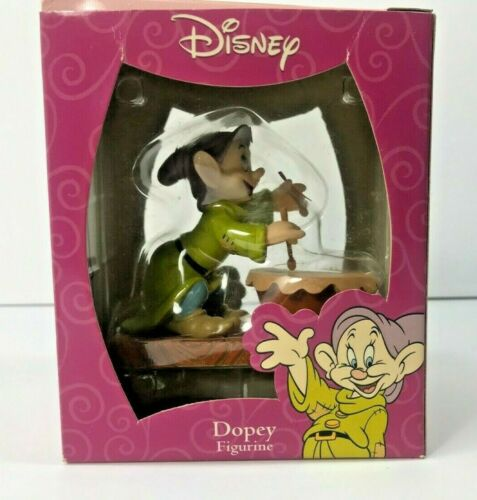 Disney Princess Dopey Figurine Playing Drum 65th Anniversary CVS Enesco vtg