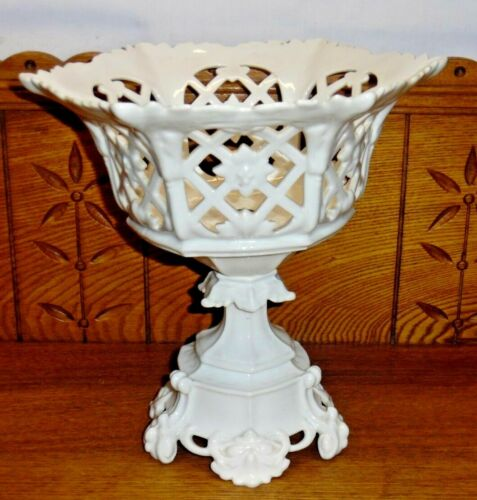Antique Old Paris ? Porcelain Compote