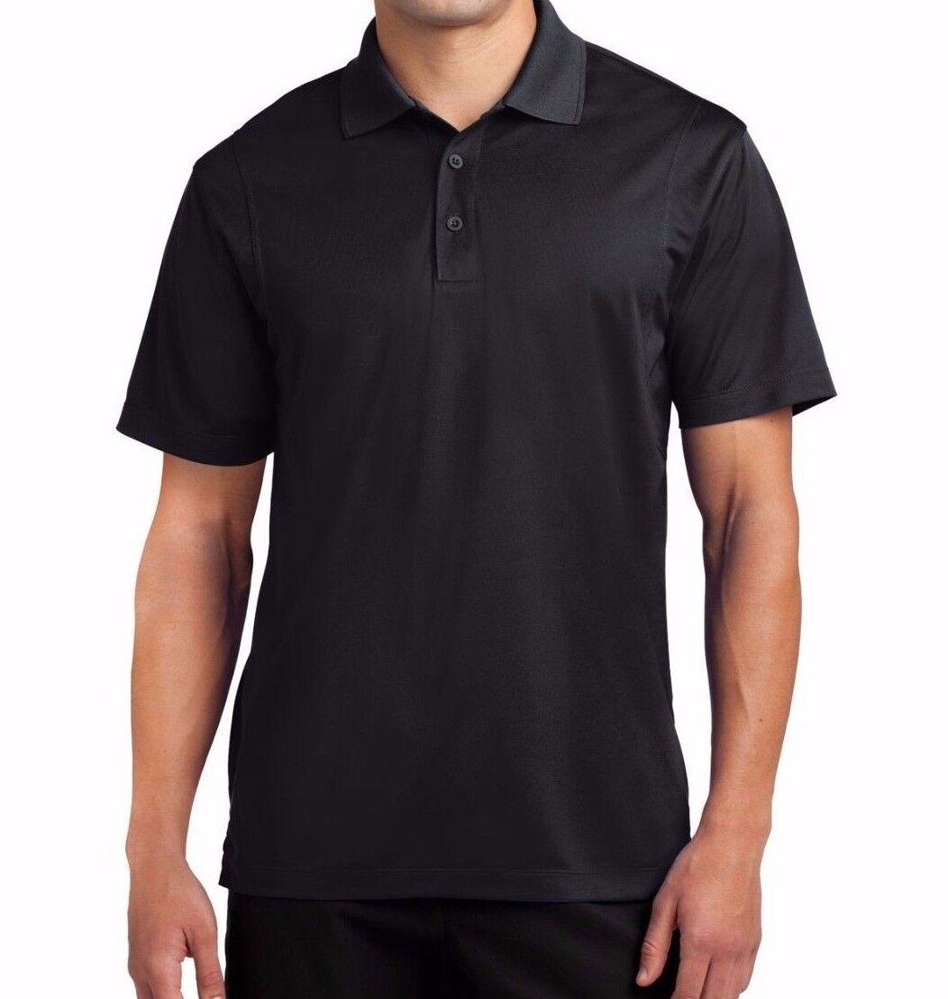 d51144c8760df EAZY GOLF Men's S-3XL 4XL 5XL 6X Dri-Fit Micro Pique Polo Sport Shirts TALL,  REG
