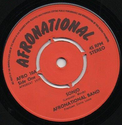 AFRONATIONAL BAND sonjo*lovie dovie merengue 1975 UK AFROBEAT 45