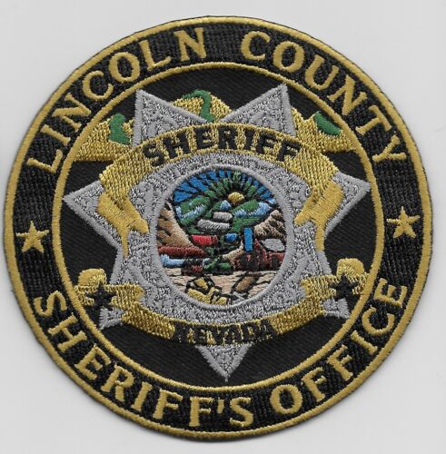 Lincoln County Sheriff State Nevada NV