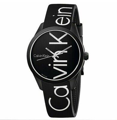 Reloj hombre deportivo marca color negro con letras blancas