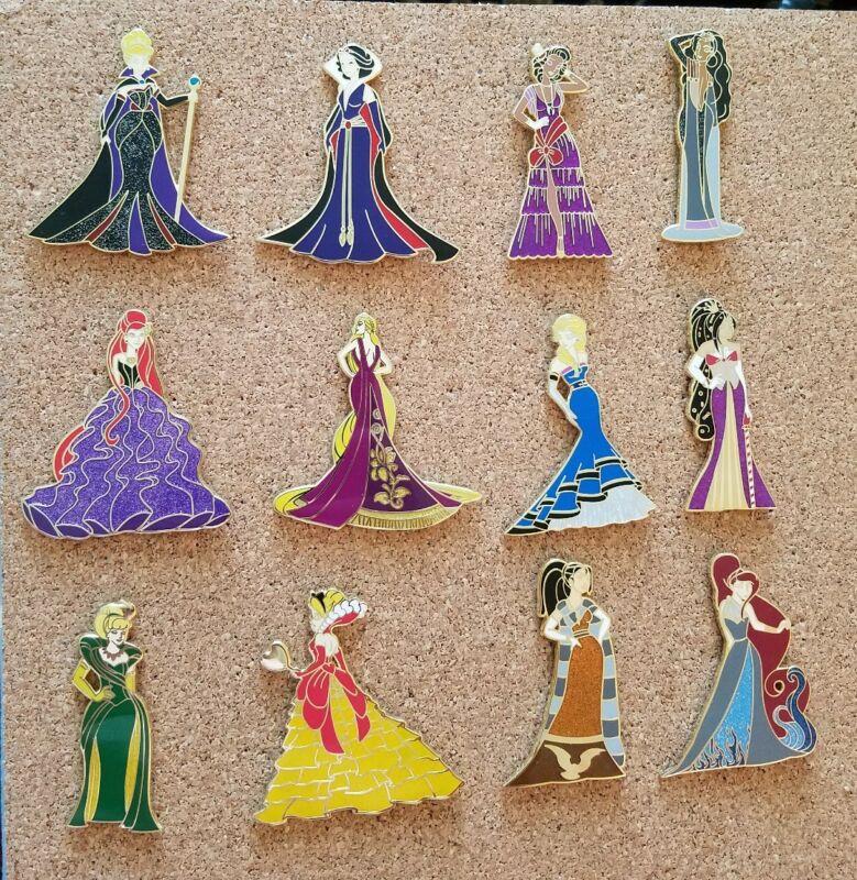 Fantasy Pin Evil Beauties Series set of 12 pins  LE 75