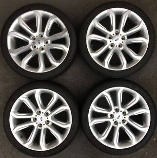 4x Ford Falcon FG Ser2 XR6 XR8 XR50 turbo 19 inch alloy wheels Epping Whittlesea Area Preview