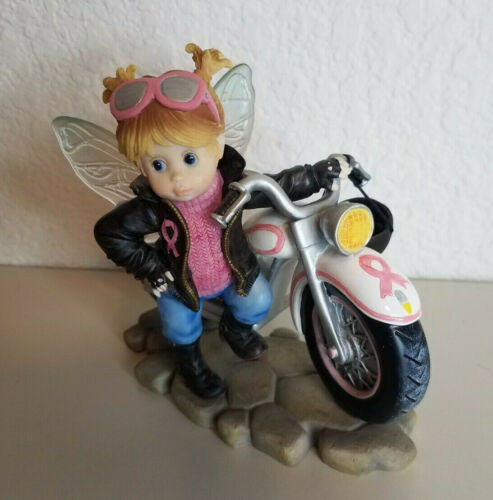 2011 My Little Kitchen Fairies Hope on Wheels Enesco 4024656 No Box Motorcycle