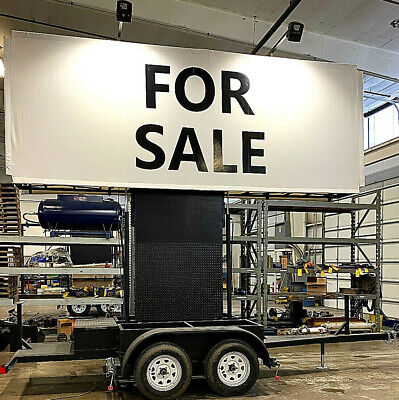 Mobile Billboard Trailer Advertising -vinyl Signs - 6 Ft X 15 Ft