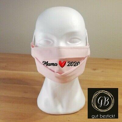 Mundschutz, Maske, Behelfsmaske, Mama 2020, Baby, Newborn, Neugebores, waschbar