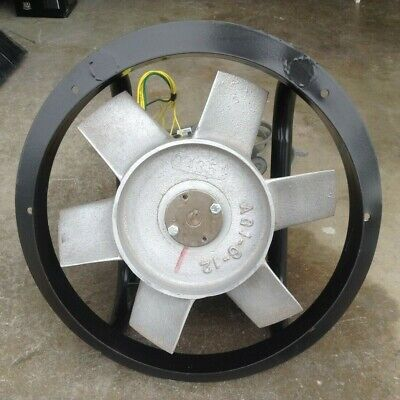 Explosion Proof Exhaust Fan - Emerson 2hle12bk - 12 Inch Ring Fan 900 Cfm