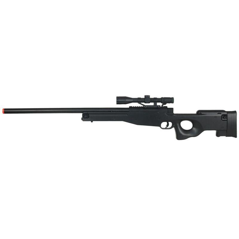 400 FPS L96 AWP BOLT ACTION SPRING AIRSOFT SNIPER RIFLE GUN w/ SCOPE BB BBs