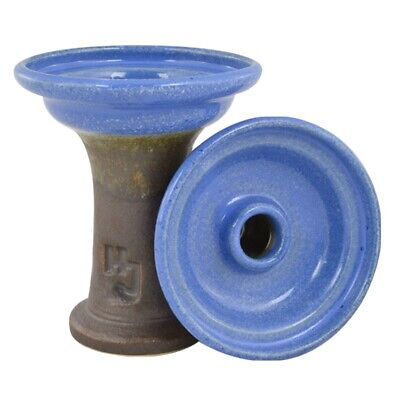 Hookah John Ferries Bowl Blue Nut Shisha Water Pipe Bong Head For Kaloud Lotus