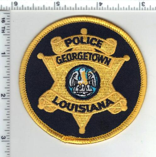 Georgetown Police (Louisiana)  Shoulder Patch - new from the 1980