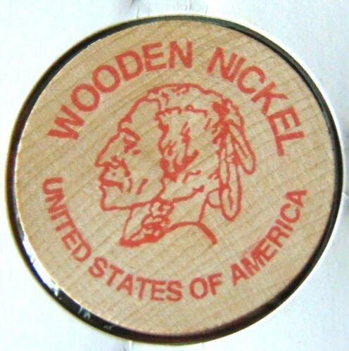 WOODEN NICKEL, R&K COINS, SPRINGFIELD