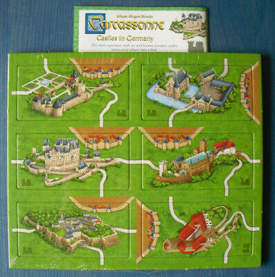 Carcassonne: Castles in Germany (with English -