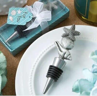 25X Sea / Beach Themed Wine Bottle Stoppers Bridal Shower Wedding Favors](Beach Themed Wedding Favors)