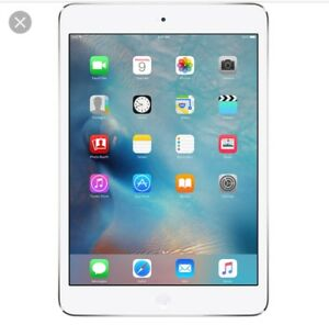 iPad Mini 2013 model (white)