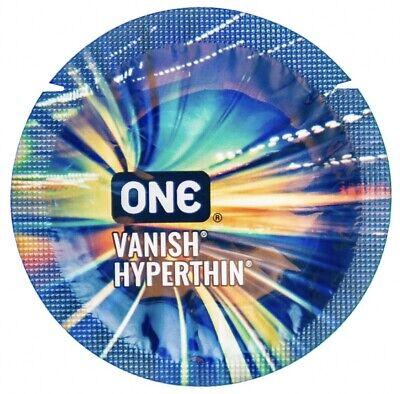 50 Pack - Ultra Thin Condoms - New - Vanish Hyperthin - Expires 10/31/2024